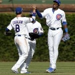 RT @amandakaschube: breaking: Jorge Soler is a giant human. (photo by the Tribunes Phil Velasquez) #cubs http://t.co/Qme8WYgelA