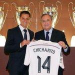 RT @CARASmexico: ¡Es oficial! Real Madrid presenta a Javier Hernández @CH14_ Aquí los detalles: http://t.co/jLq2tO5RwA http://t.co/LJPWv4IVdW