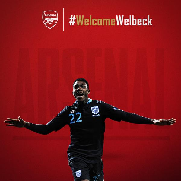 It's official. @Arsenal have signed Danny Welbeck from Manchester United: http://t.co/obyyFMbDW4 #WelcomeWelbeck http://t.co/6yD9nbSkFi
