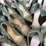 New crystal shoes arrived to the studio today. #NYFW http://t.co/29MY28JyNM