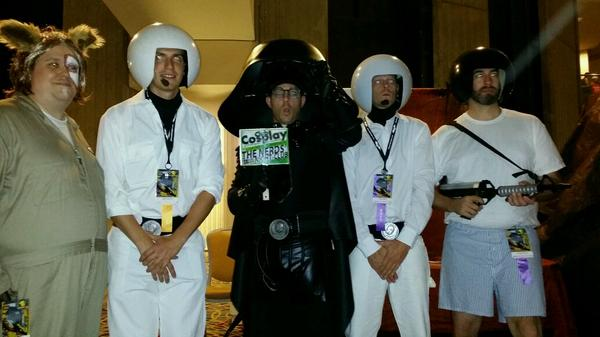 A great Spaceballs group of cosplayers that I spied at @DragonCon. http://t.co/vulsGQTi7j