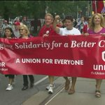 RT @CTVToronto: Union leaders sound off at #Torontos annual Labour Day parade http://t.co/PO7U0lFgGy http://t.co/XZKFLM0xaf