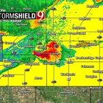 Severe Tstorm Warn: Major, Grant, Garfield, Alfalfa till 8. Golf ball size hail and 60mph wind poss. http://t.co/DQg9Y9yI3u