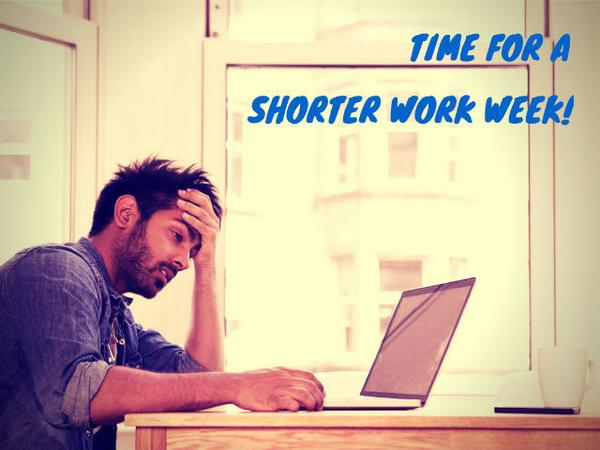 What are the potential benefits of cutting the work week nearly in half? http://t.co/Hux9y2jVRX #sustainability http://t.co/vk8ez6cWeL