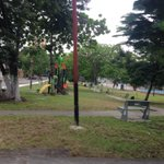 Gracias @Emica_SA por desmalezar plaza Álamo #Barquisimeto #CiudadIdeal http://t.co/kNlnjDgDhx