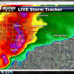 At 826PM Heaviest rain is now from Lake Shawnee to Forbes Field. #WIBW #kswx http://t.co/0CC2MbAiJa