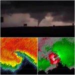 RT @tornadotrackers: Tornado in Cedar Vale, KS tonight...very impressive rotation. (Pic: @chaserchick17) http://t.co/StxfqYxpkY