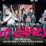 """RT @follow_2PM: #2PM #2PM_WORLD_TOUR """"2PM World Tour GO CRAZY"""" 공식 포스터 공개! Official Poster is Released! http://t.co/h2zY9UybhQ http://t.co/BXVtNvcZzJ"""