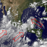 imagen #NASA HD se propagan desde varias direcciones nublados de tormentas hacia #México http://t.co/rnmj2VCWjf