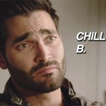 Lydia, my ginger banshee queen, Im gonna have to ask you to calm down. #TeenWolf http://t.co/Z2bKs8wU5k