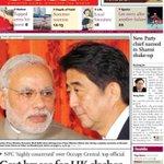 PM Modi Japan visit creating Buzz in China ,Front Page of CHINA Newspaper via @tajinderbagga ....Proud of MY PM MODI http://t.co/b0zGUd2nsy
