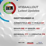 Latest Updates from the 2014 FIBA Basketball World Cup #FIBAAllOut http://t.co/a3MKrtbpXJ