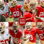 RT @49ers: All 12 of #49ers draft picks are still with the team. Learn more about each. Class of 2014: http://t.co/b5yZ7cz3hY http://t.co/0MMZSfsz16