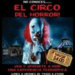 """RT @peggycultura: #GUAYAQUIL atrévete a vivir una experiencia terrorífica """"CIRCO DEL HORROR"""" Del 1 de Oct al 9 de Nov. @Malecon2000Gye http://t.co/sZDAD4OLmu"""