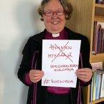 Ihmisten yhdenvertainen kohtelu on tärkeää #IrjaAskolalle. #kutsumua #kirkko http://t.co/fWmZ84xiSg