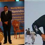 RT @scotchism: Dance or Drums....The first PM of India knows it all....He is undoubtedly a versatile genius. #100DaysIndiaPays http://t.co/YsbbECXPwg