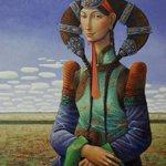 Заяа гээд гайхалтай зураач залуугийн бутээл. Монгол зургийг дэлхийд таниулж яваа уран бутээлч. Монгол Моно Лиза!!! http://t.co/D5zh5gICGX