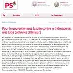 Quand le PS était contre le contrôle des chômeurs sous Sarkozy Mais ça cétait avant ! http://t.co/84GuHPdnNA