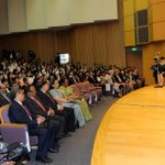 RT @MIB_India: The Prime Minister Shri @narendramodi delivering the address at the University of Sacred Heart, in Tokyo, Japan. http://t.co/vCHG2SXtyC