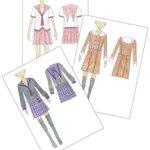 """""""セーラー服""""のデザインコンテスト開催。入選したデザイン案は製作後、受賞者に贈呈されるそうです。応募資格は女子学生のみ http://t.co/sgElCSTlmH http://t.co/HVeyUrIWK4"""