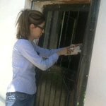 Casa por casa se entrego #NotasDelRio porke es importante que los vecinos de El Sauz esten informados @JavierDagnino http://t.co/v0Psa1stAp