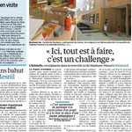 RT @AurelieLebelle: Reportage avec les profs de Stéphane Hessel et Zefirottes, le nouveau groupe scolaire de Montreuil #rentree_2014 http://t.co/MjjovImzM2