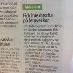 Förbjud kommuner att driva äldreboenden! #svpol http://t.co/y7pxnAD1zM