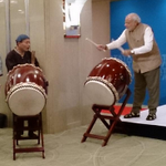 RT @htTweets: Upbeat #Modi plays taiko drums, wows Japanese businessmen http://t.co/wGELWsldR1 (Photo: @MEAIndia) http://t.co/j5iA59R9KU