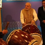 PM Narendra Modi bangs the drum for Indian business in Japan http://t.co/rWykCf4m49 http://t.co/Yx3nonJZQI