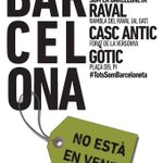RT @AsbleaRaval: #bcnNoEstaEnVenda: convocatòria conjunta demà dimecres 20h a tots el barris #CiutatVella https://t.co/laKspFswl1 http://t.co/B6AuBzEjnv