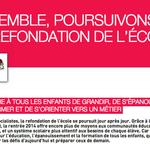 Retrouvez le tract «Ensemble poursuivons la refondation de lécole» #rentree_2014 http://t.co/iqdQuM6Tp7 http://t.co/o5vllzBN2N