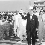 RT @IndiaHistorypic: May 23 ,1957 :: Indians Welcome PM of Japan, Nobusuke Kishi (Grandfather of @AbeShinzo) @PMOIndia @IndianDiplomacy http://t.co/cZOYL7KuqS