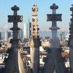 #Milan seen of the Duomo terrace #Italy . #Milano vista dalla terrazza del Duomo #Italia http://t.co/vsikEfGknj
