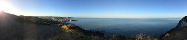 Aberystwyth in the morning sun... http://t.co/xrMlu2wzV5