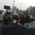 RT @janessaf: @TrafficBOM@TrafflineMUMroad work going on near Mahim church crazy traffic no cops #mumbai http://t.co/izS3sOOpc6