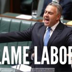 RT @Vote_Labor: Blame Labor, he says as he cuts pensions. Blame Labor, he says as he freezes super. #abcnews24 #auspol http://t.co/xVr3teMdUu