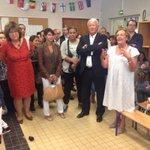 A la rentrée des classes de lécole rue Saint-Didier. Bonne rentrée à tous les enfants du 16e! http://t.co/u2q4i50DH2