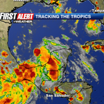 RT @ActionNewsJax: Tropical Storm Dolly forms in the Gulf. Storm is no threat to our area. Arielle Nixon is tracking on FOX30 @ 4:30 http://t.co/SXjMxF7qoV