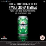 RT @Heineken_TZ: Good morning Tanzania, tickets to @NyamaChomaFest are coming up, Follow us for more details. RT #WIN http://t.co/CwLRZZUPY9