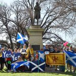 RT @ExpatsScotIndy: Scots in #Melbourne gather under Burns statue to send message of support to #VoteYes #Scotland #indyref (BScade) http://t.co/0W7GnjXx1h