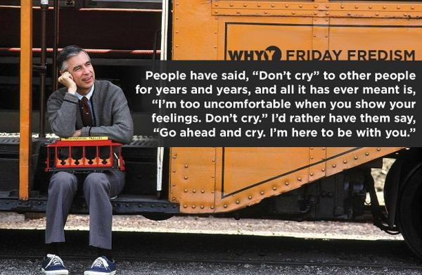 Quotes from Mr. Rogers could easily be made into a #Hospice and #Palliative Medicine Textbook. #hpm http://t.co/G8mVCYVYYQ