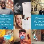 Geweldig al die inschrijving-selfies! Welkom aan de KU Leuven allemaal #kuleuvenstart http://t.co/U39OI6wLY6