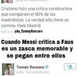 Diferencias entre las críticas de Cristiano Ronaldo y Leo Messi según @As_TomasRoncero http://t.co/YjXc7TWw4b