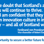 RT @YesScotland: An independent Scotland will attract top researchers http://t.co/x91BGhyMfk via @guardian #indyref http://t.co/Gs3u35as7t
