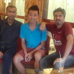 RT @smadixit: it was wonderful meeting @lexlimbu for the first time today along with @chandangoopta at #brew #kathmandu ! http://t.co/mlprOC5NgI