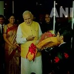 Tokyo: PM Narendra Modi at Indian Embassy interacting with children http://t.co/t4iR7T9Zs4