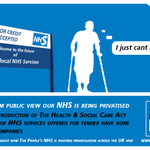 RT @PeoplesNHS: Can you afford a privatised NHS. WE SAY, NO WAY, NHS IS HERE TO STAY RT if you agree. http://t.co/35PV4TLCYl