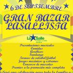 No lo puedes olvidar: este sábado 6 de septiembre, GRAN BAZAR LASALLISTA. @Monteria_Col @NoticiasGs @okysano http://t.co/9pxCDp3vHe