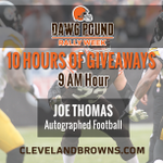 Looking for an autographed Joe Thomas football? Heres your chance! Enter to win >> http://t.co/QsWGLp6bHz http://t.co/f5OGs80xYd