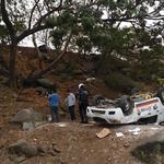 Accidente de tránsito en la Perimetral, a la altura de los Ceibos. Una persona resultó herida. Vía @m_gutierrez85 http://t.co/jCXFqCk6fN